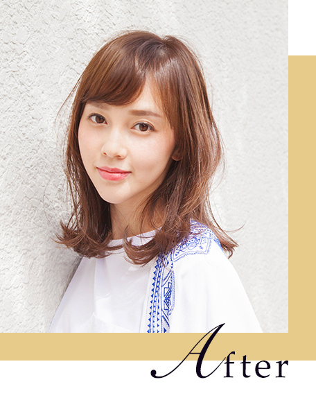 avex × HAIR 伊藤ゆみAfter