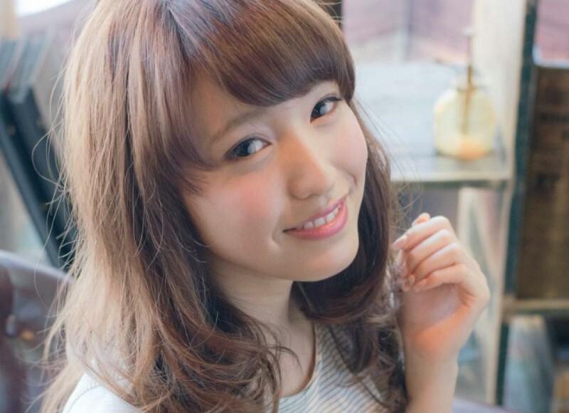ゆるふわセミロングがタイプ♡パーマで作る大人かわいいヘアスタイル(髪型)