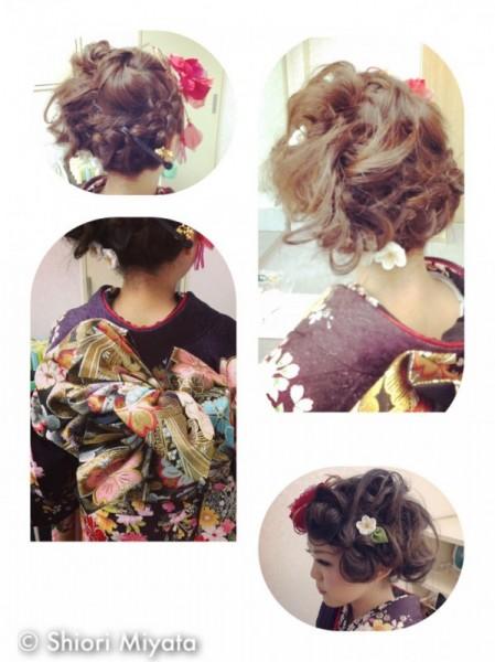 新成人さんへオススメ!もうすぐ!成人式のヘアスタイル特集♡ Shiori Miyata