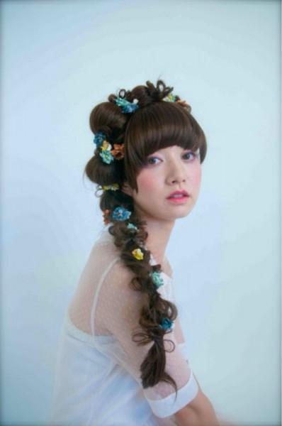 女の子はみんな大好き!お花を使ったヘアアレンジがかわいすぎる♡ 金子 あかり