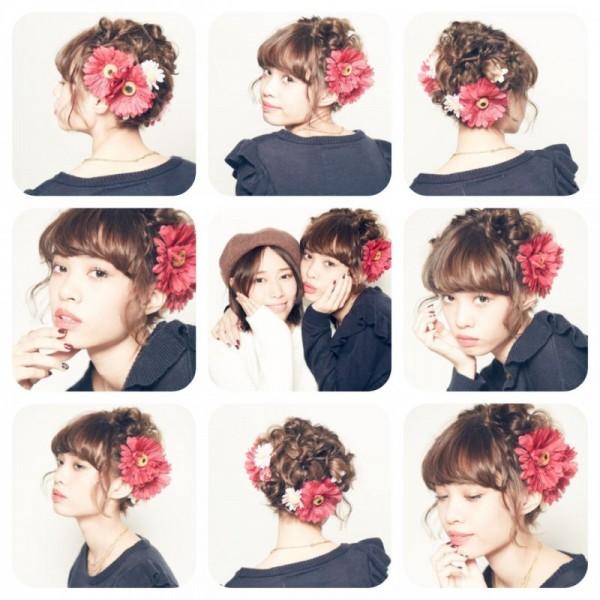 女の子はみんな大好き!お花を使ったヘアアレンジがかわいすぎる♡ Honda Macoto