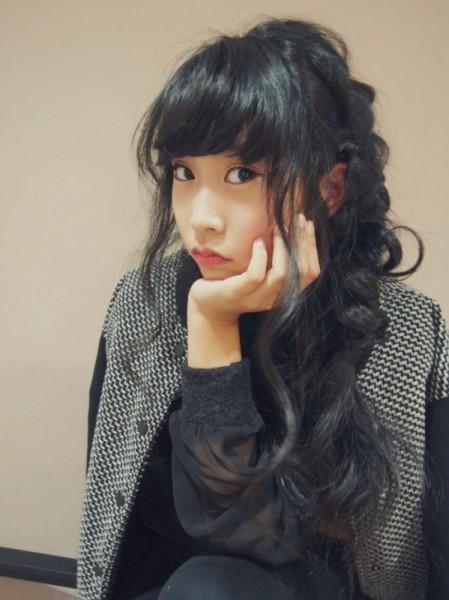 真冬のヘアカラーは黒髪で決まり!?黒髪でオンナ度UPを狙え♡ Hotaru Mori/RITZ