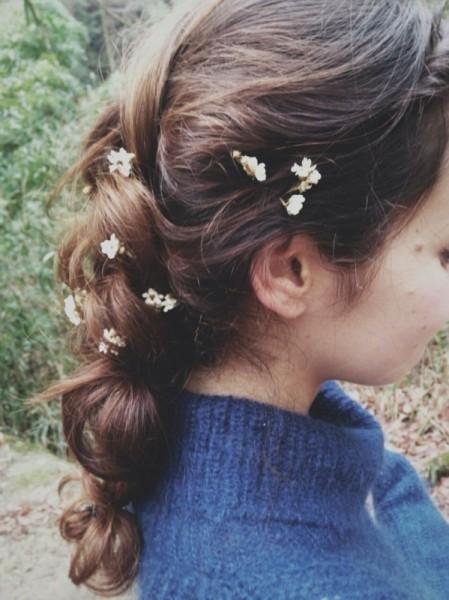 女の子はみんな大好き!お花を使ったヘアアレンジがかわいすぎる♡ Toshimi Nakanishi