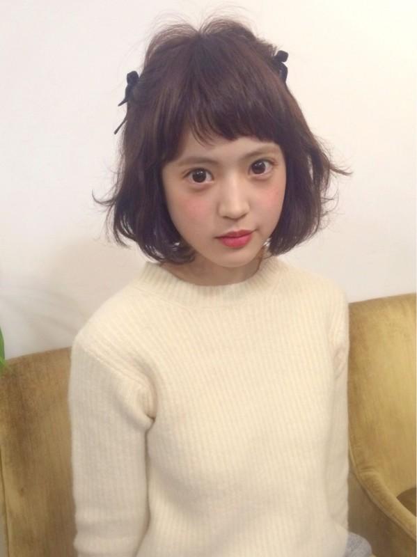 学校でもOK! 黒髪ショートヘアの簡単アレンジ集 美人部 - ショートヘア アレンジ 黒髪