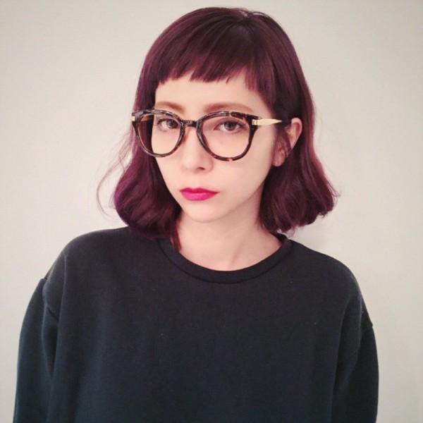 トレンドガールに大変身☆おしゃれメガネに似合う前髪はこれだ! Nobu