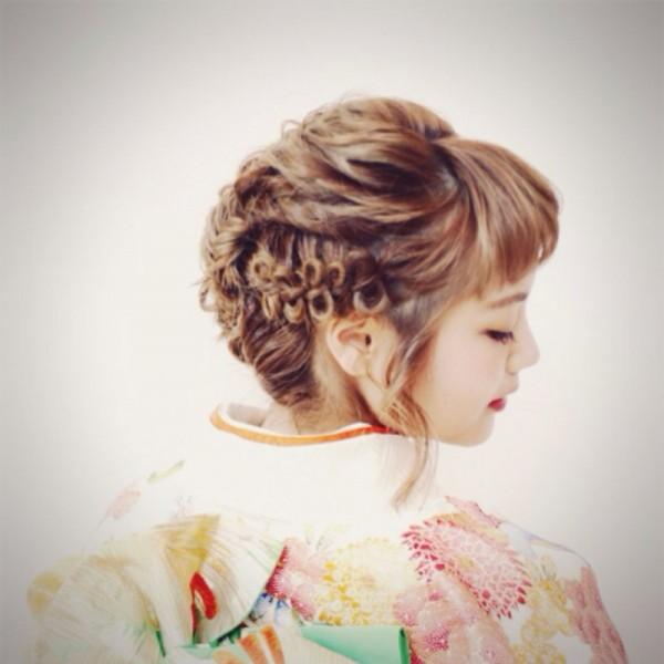 新成人さんへオススメ!もうすぐ!成人式のヘアスタイル特集♡ 高山 恵/luve heart's AndBe+Eclat