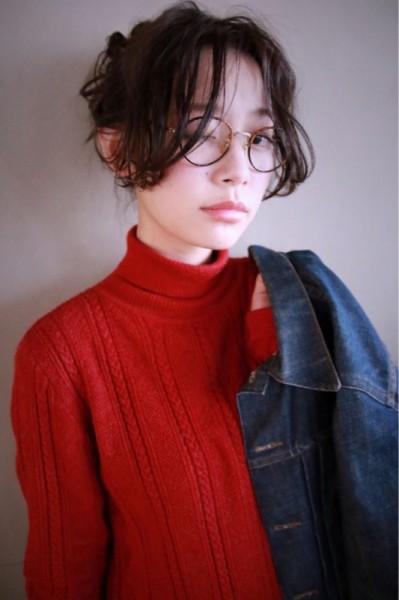トレンドガールに大変身☆おしゃれメガネに似合う前髪はこれだ! 津崎 伸二/nanuk