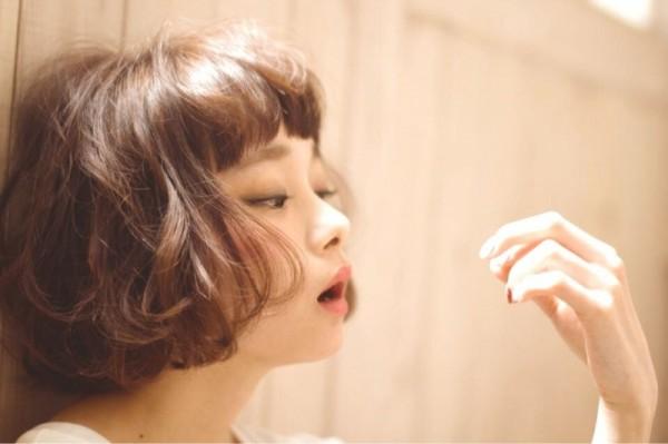 まだまだかわいい♡眉上前髪で旬顔をGET! 妹尾祐紀 / amie by afloat