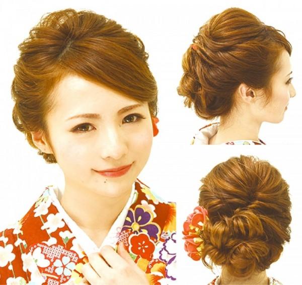 袴 髪型 : ミディアム 袴 髪型 : jp.pinterest.com
