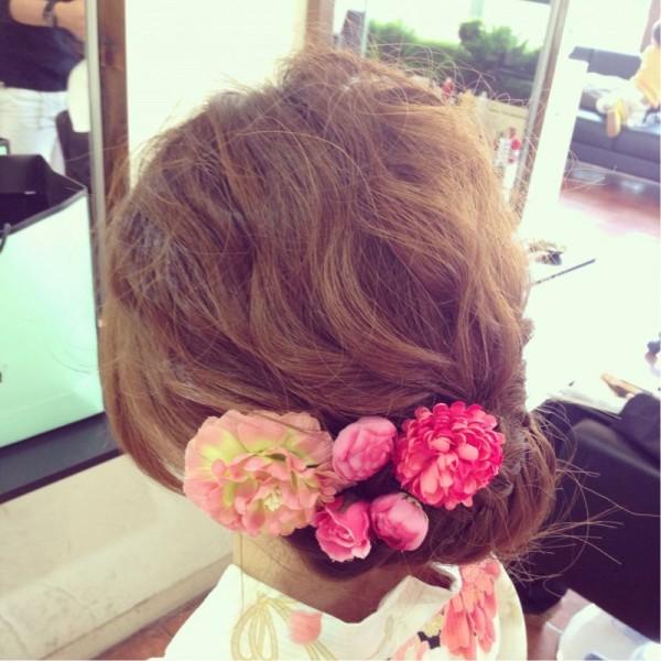 成人式直前!まだ髪型が決まらないあなたへ!かわいいヘアアレンジ特集! 和田 早代