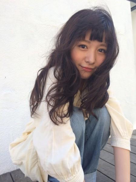 まだまだかわいい♡眉上前髪で旬顔をGET! 渡辺かおり / Fam daikanyama
