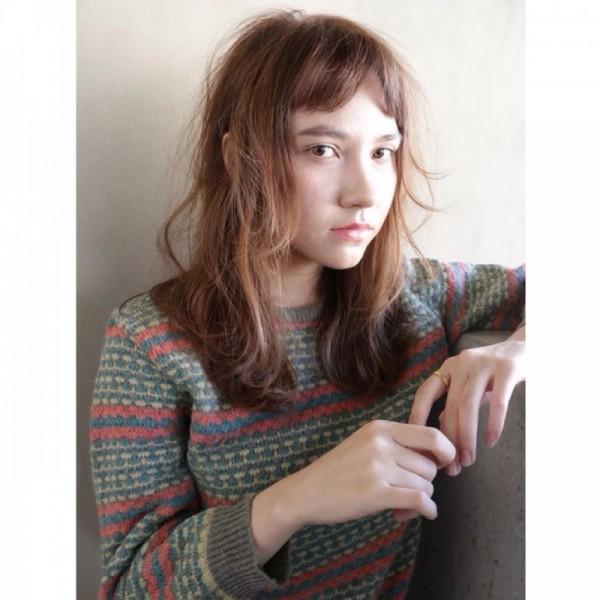 春ニットはどうやって着る?ニットをかわいく着こなすヘアスタイル特集♡ 高橋 忍 / nanuk shibuya