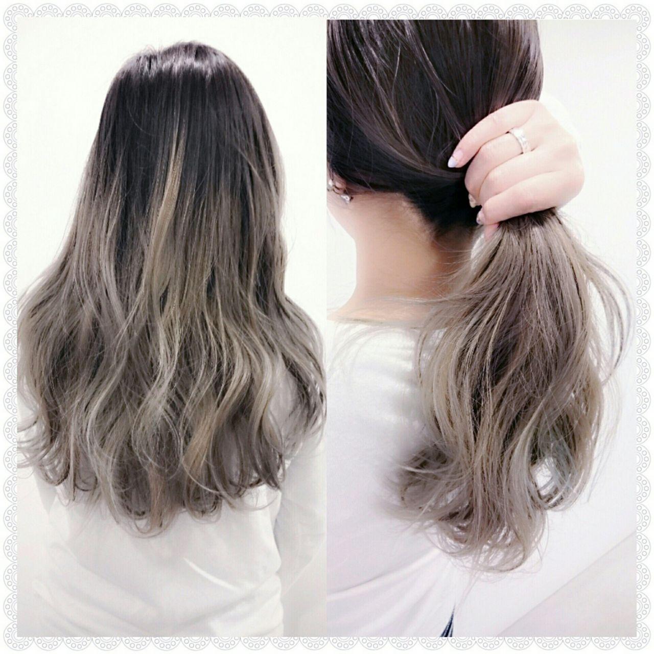 HAIRで人気のスナップをPickup!誰もが憧れるグラデーションカラー。