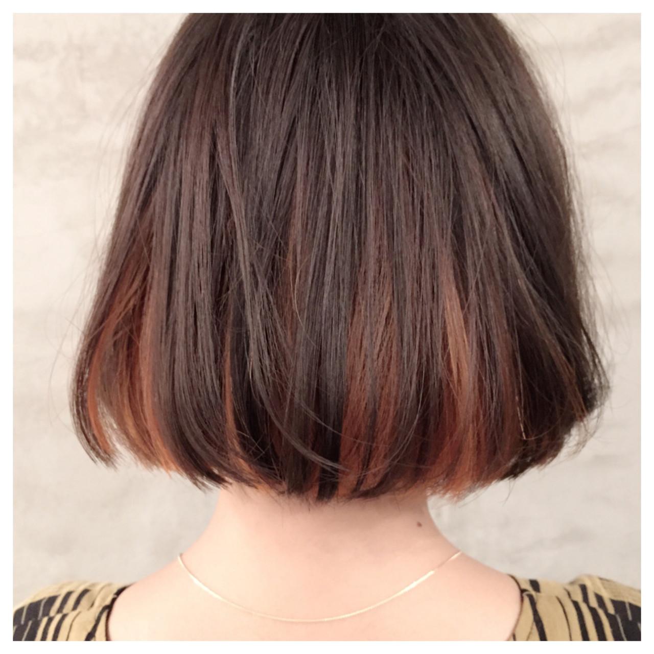 いつもの髪にグッと鮮度を。ポイントカラーで「マンネリ」とはおさらば!