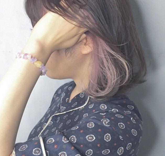 インナーカラー×黒髪で遊び心あるオシャレなトレンドヘアに♡【ショート~ロング編】