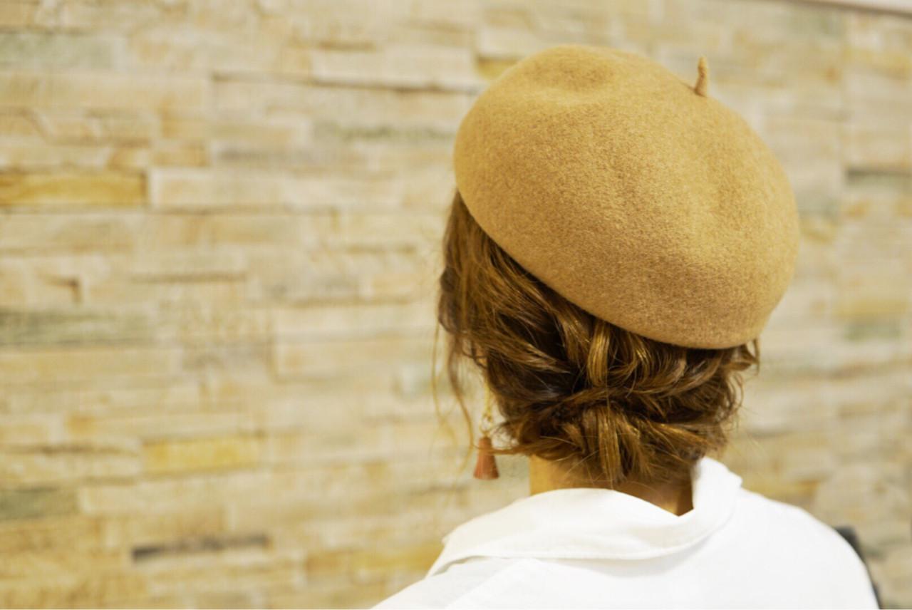 この冬必見!ニット帽、ベレー帽に合うヘアアレンジ  山口 卓哉