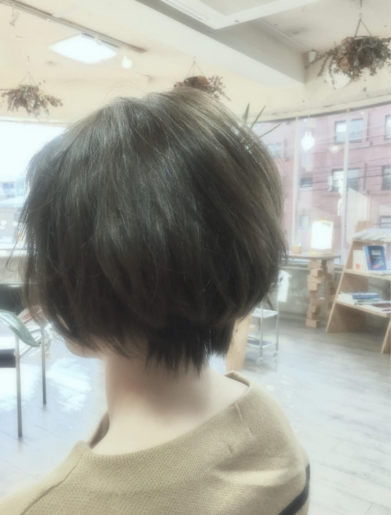 秋 暗髪 ストリート 冬 ヘアスタイルや髪型の写真・画像