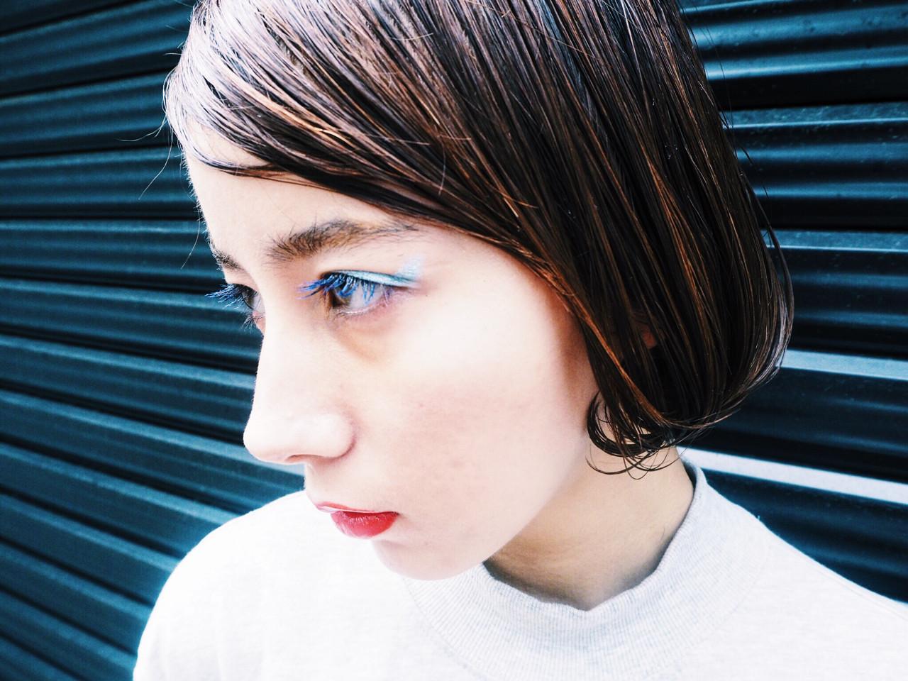 媚びないクールな女性のワンレングスはこれで決まり! Sachiko Handa
