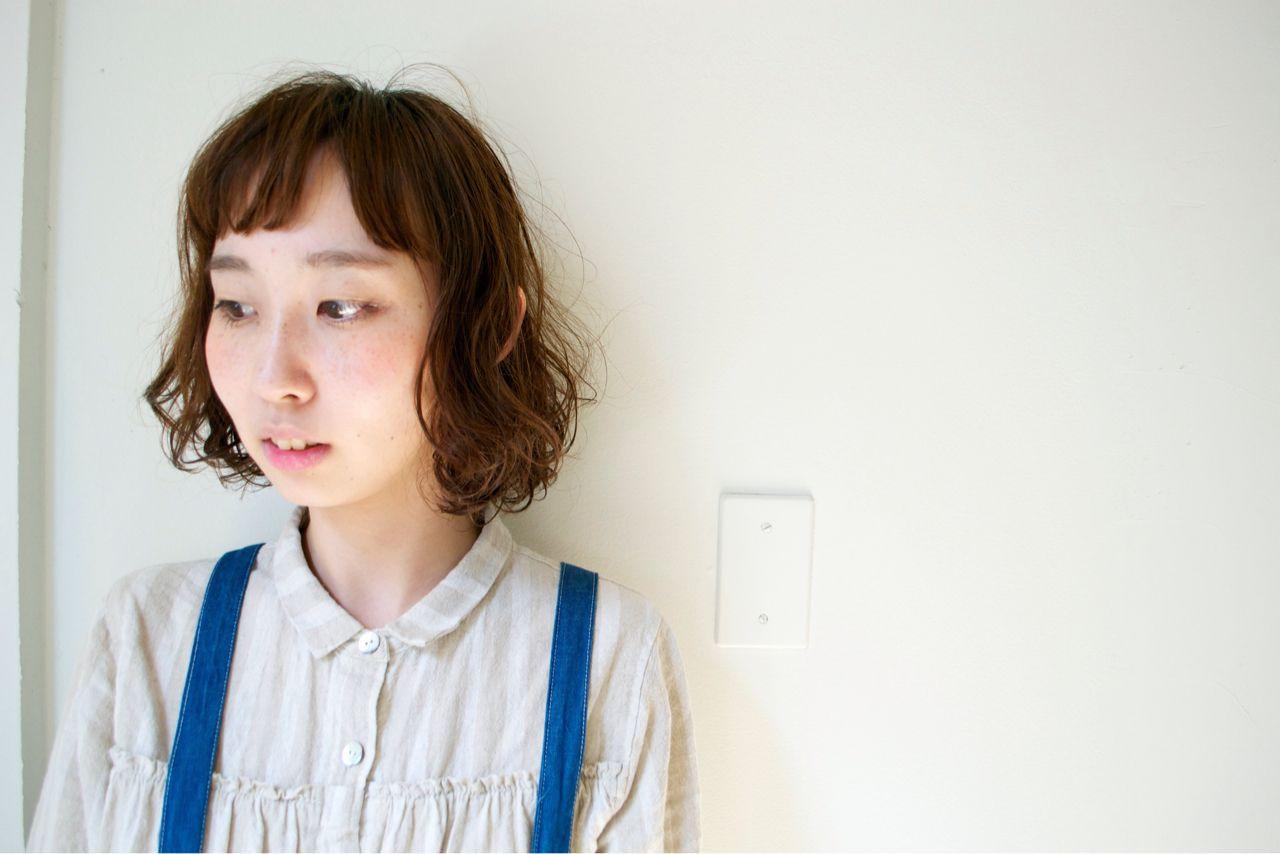 髪のボリュームが気になる人必見!毛先だけパーマで可愛くまとめる 渡辺 雄樹/TOOL hair+life lab