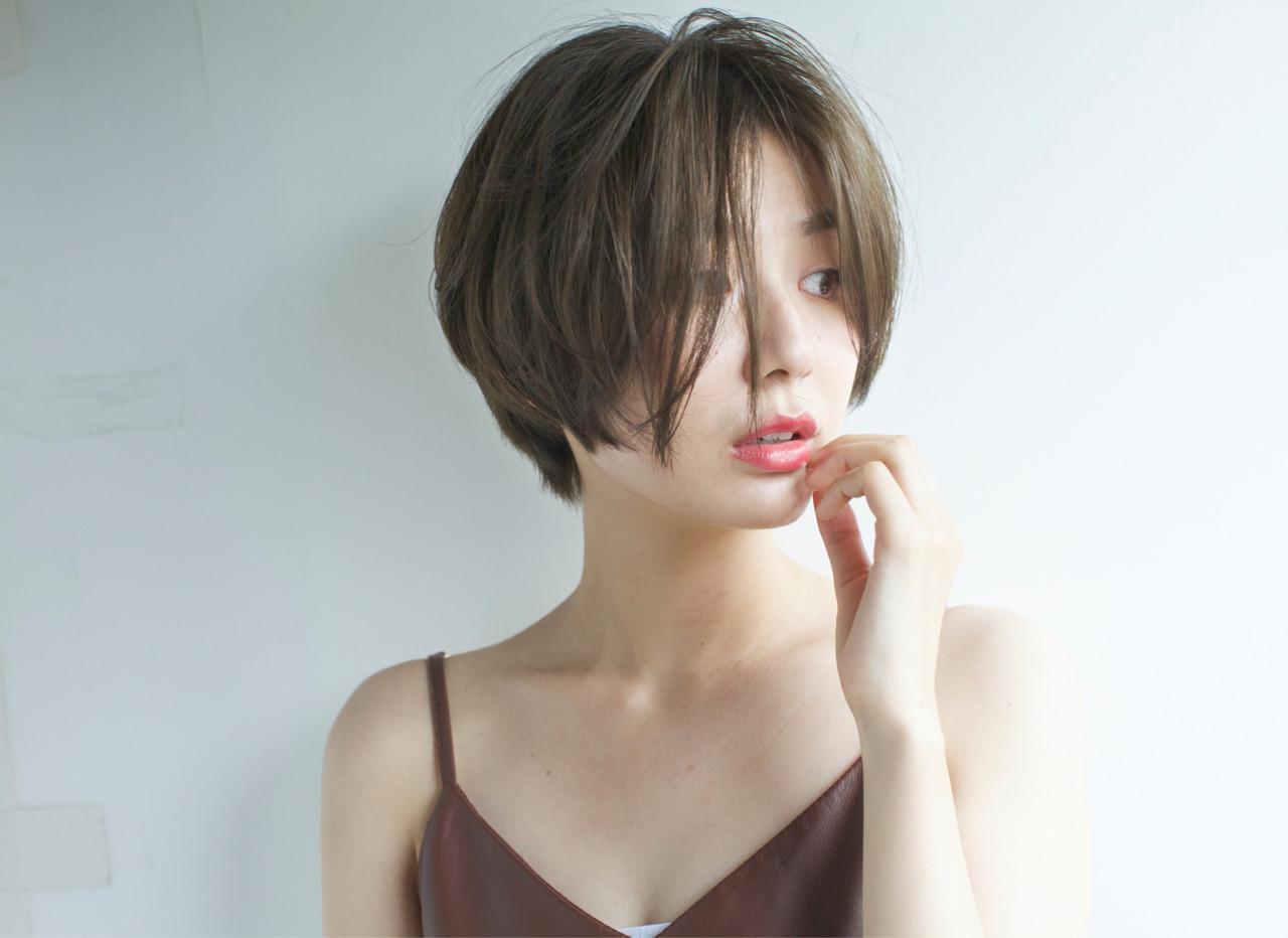 """40代におすすめ。""""前髪なしショート""""で作る大人きれい 佐脇 正徳"""