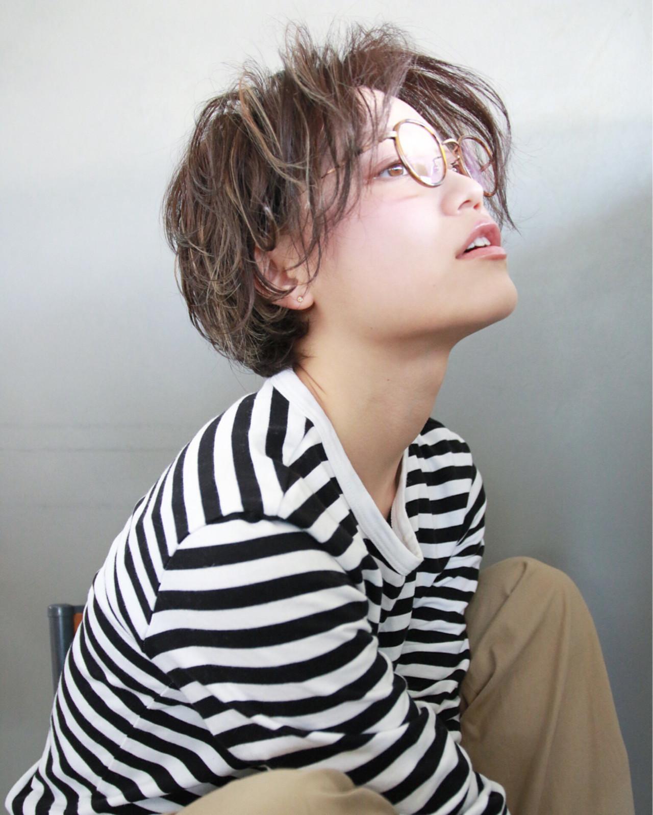 """40代におすすめ。""""前髪なしショート""""で作る大人きれい 津崎 伸二 / nanuk"""
