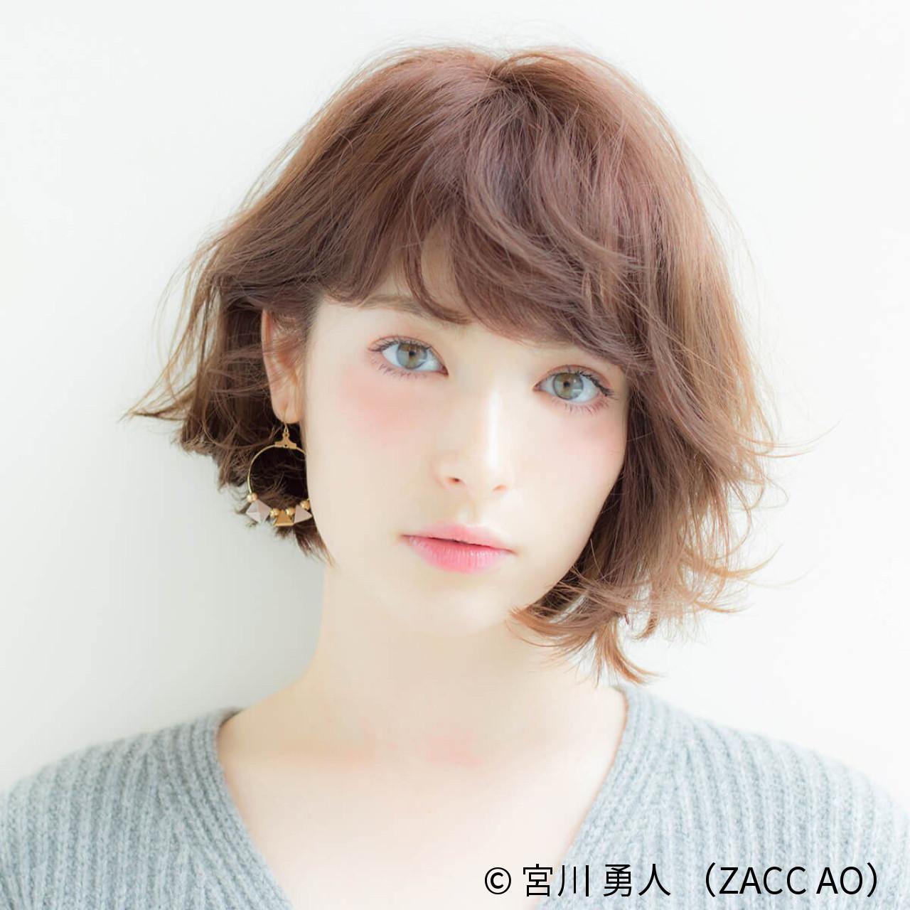 新たなトレンド前髪は、「ゆるふわフェザーバング」♡ 宮川 勇人 / ZACC