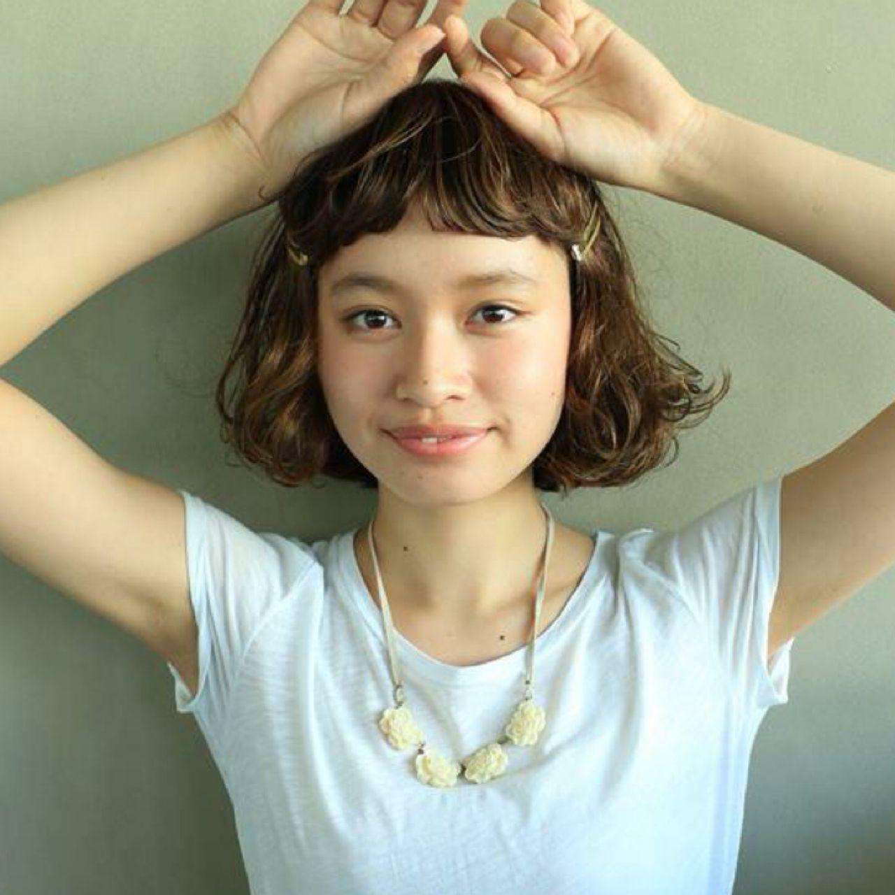 新たなトレンド前髪は、「ゆるふわフェザーバング」♡ 高橋 忍