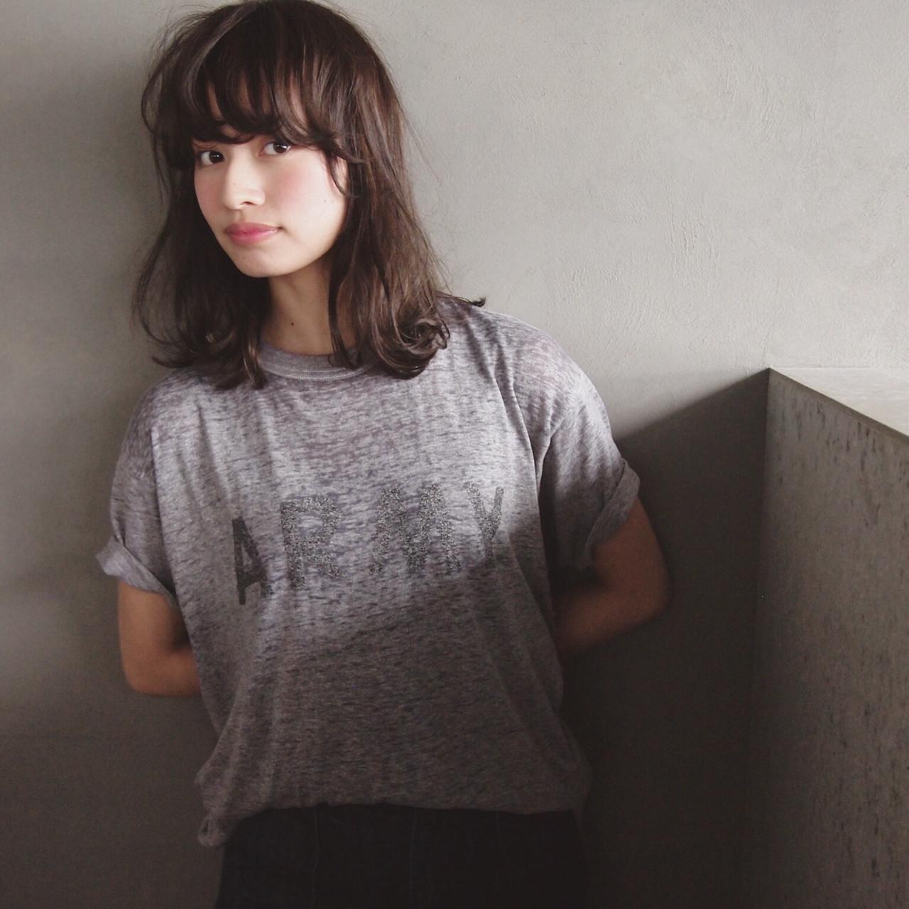 新たなトレンド前髪は、「ゆるふわフェザーバング」♡ UEKI/nanuk
