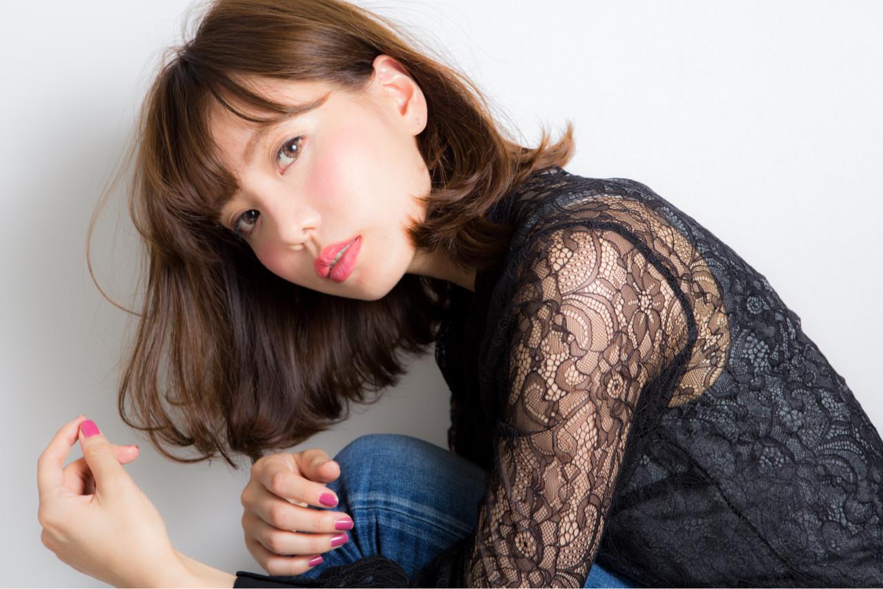 新たなトレンド前髪は、「ゆるふわフェザーバング」♡ 小幡 元