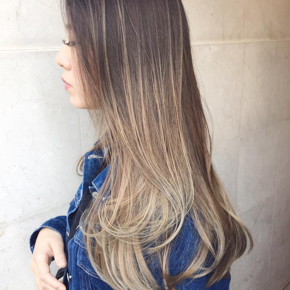 グラデーションでいつもの髪型をアレンジしよう!色で楽しむロング向けの髪型まとめ♡
