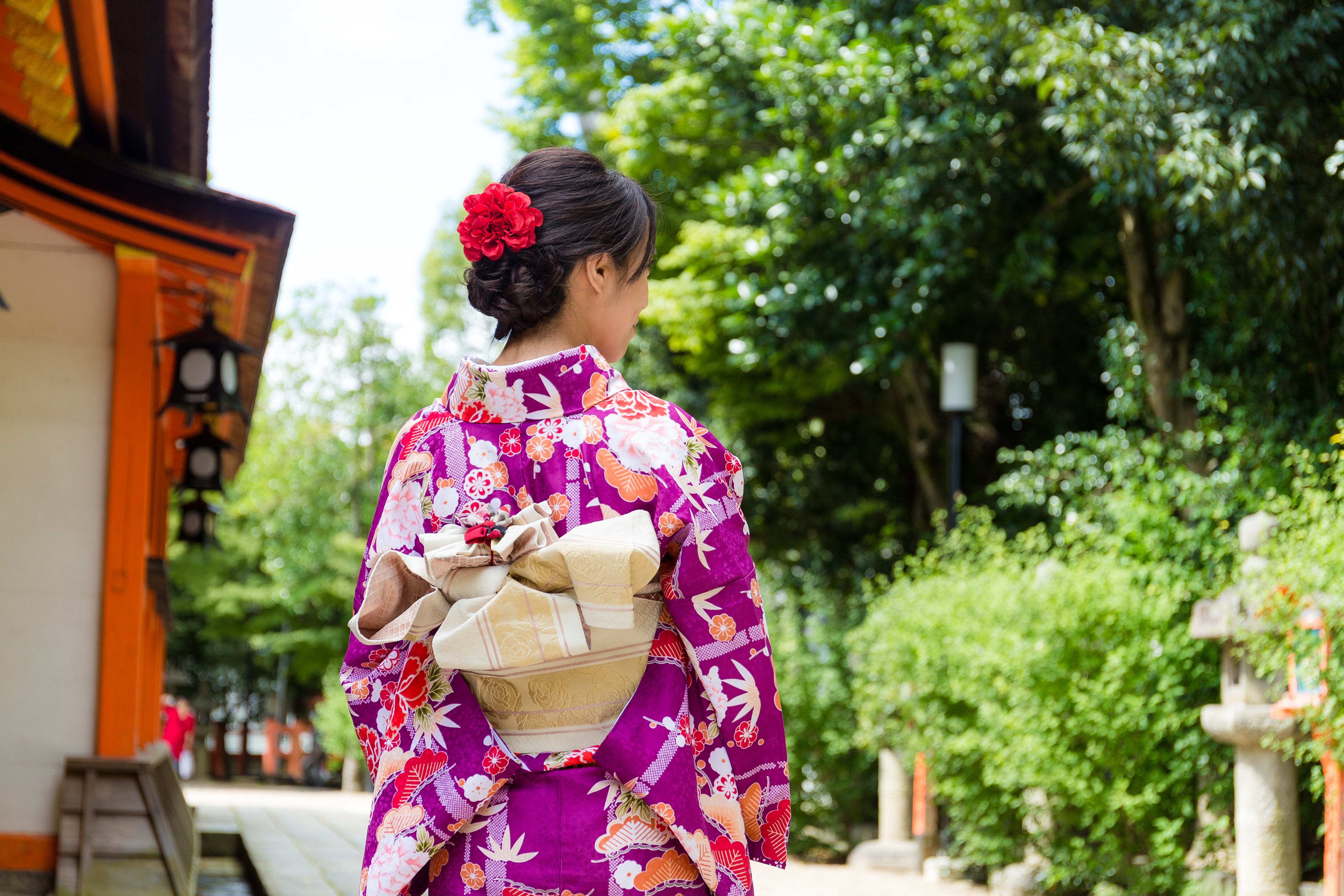 着物に似合うヘアスタイルでしっとりはんなり和服美人になろう