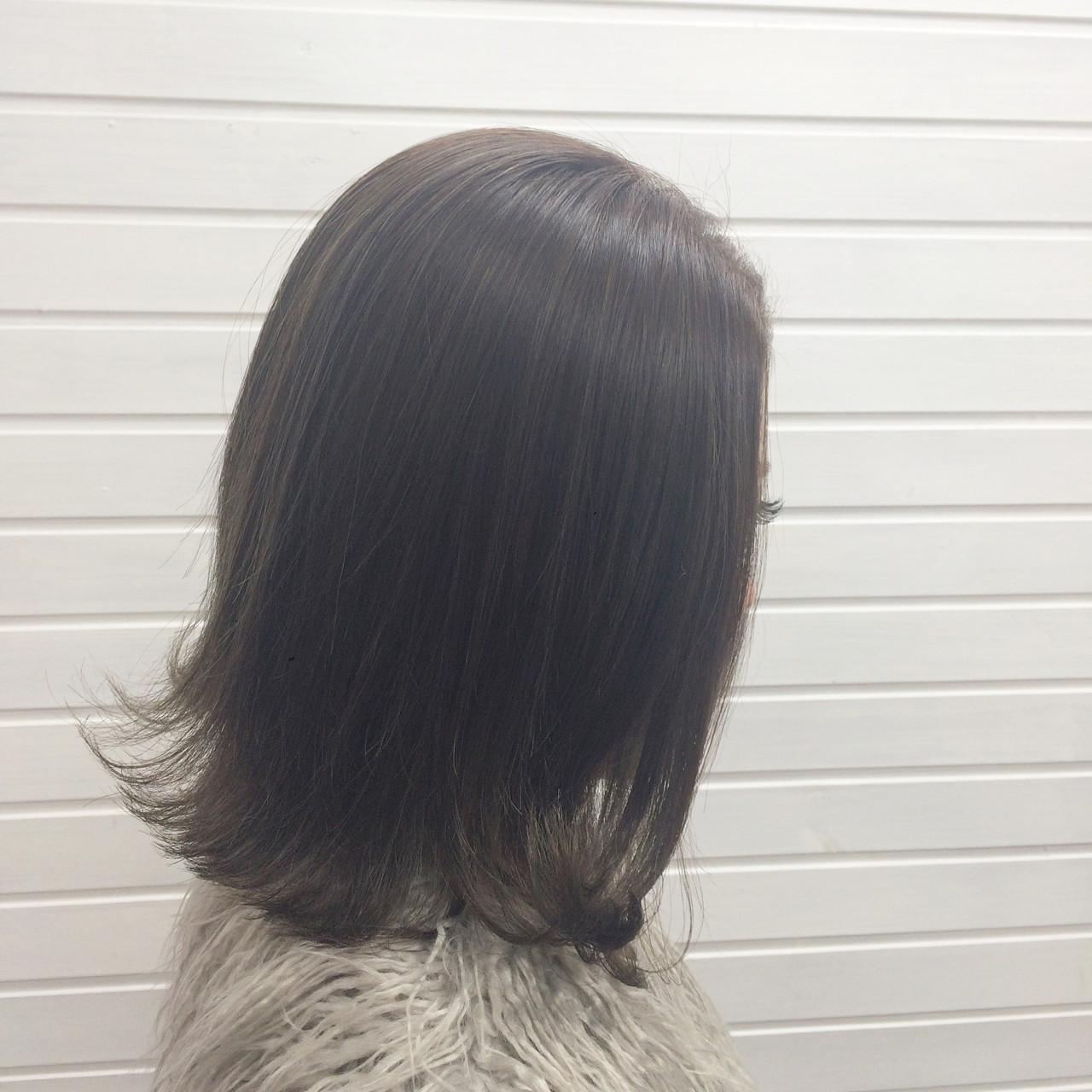 ストリート 外ハネ 冬 ハイライト ヘアスタイルや髪型の写真・画像