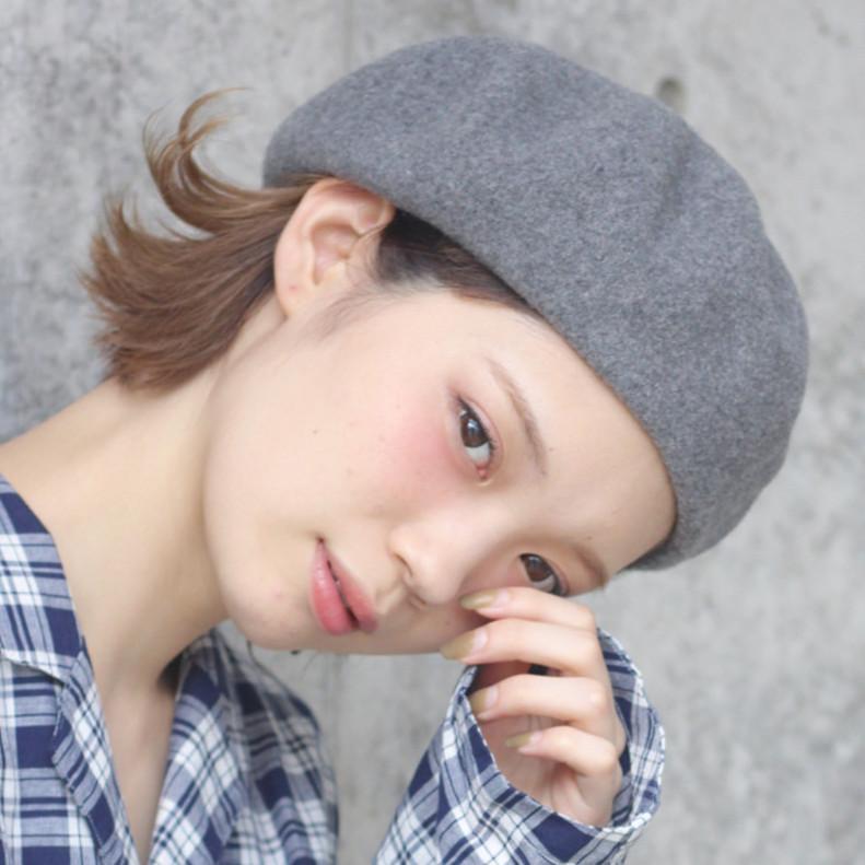 ベレー帽に似合うヘアアレンジ♡もっと可愛く帽子をかぶるテク