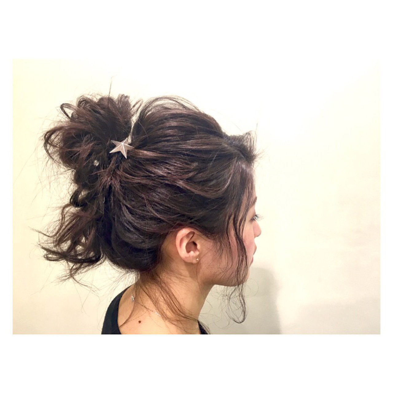 外国人風 フェミニン デート ヘアアレンジ ヘアスタイルや髪型の写真・画像
