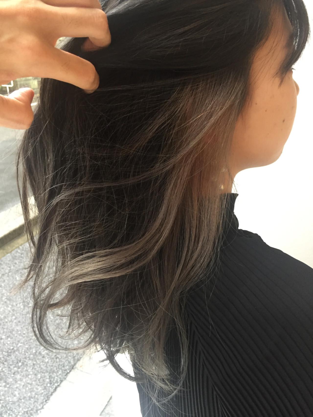 ゆるふわ セミロング ガーリー 大人かわいい ヘアスタイルや髪型の写真・画像