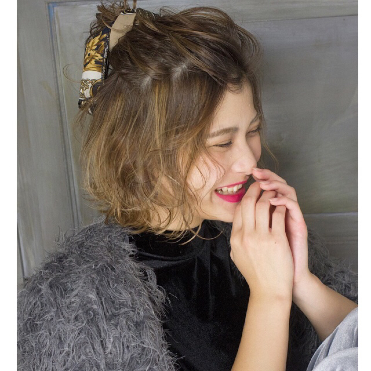 ナチュラル 簡単ヘアアレンジ デート 結婚式 ヘアスタイルや髪型の写真・画像