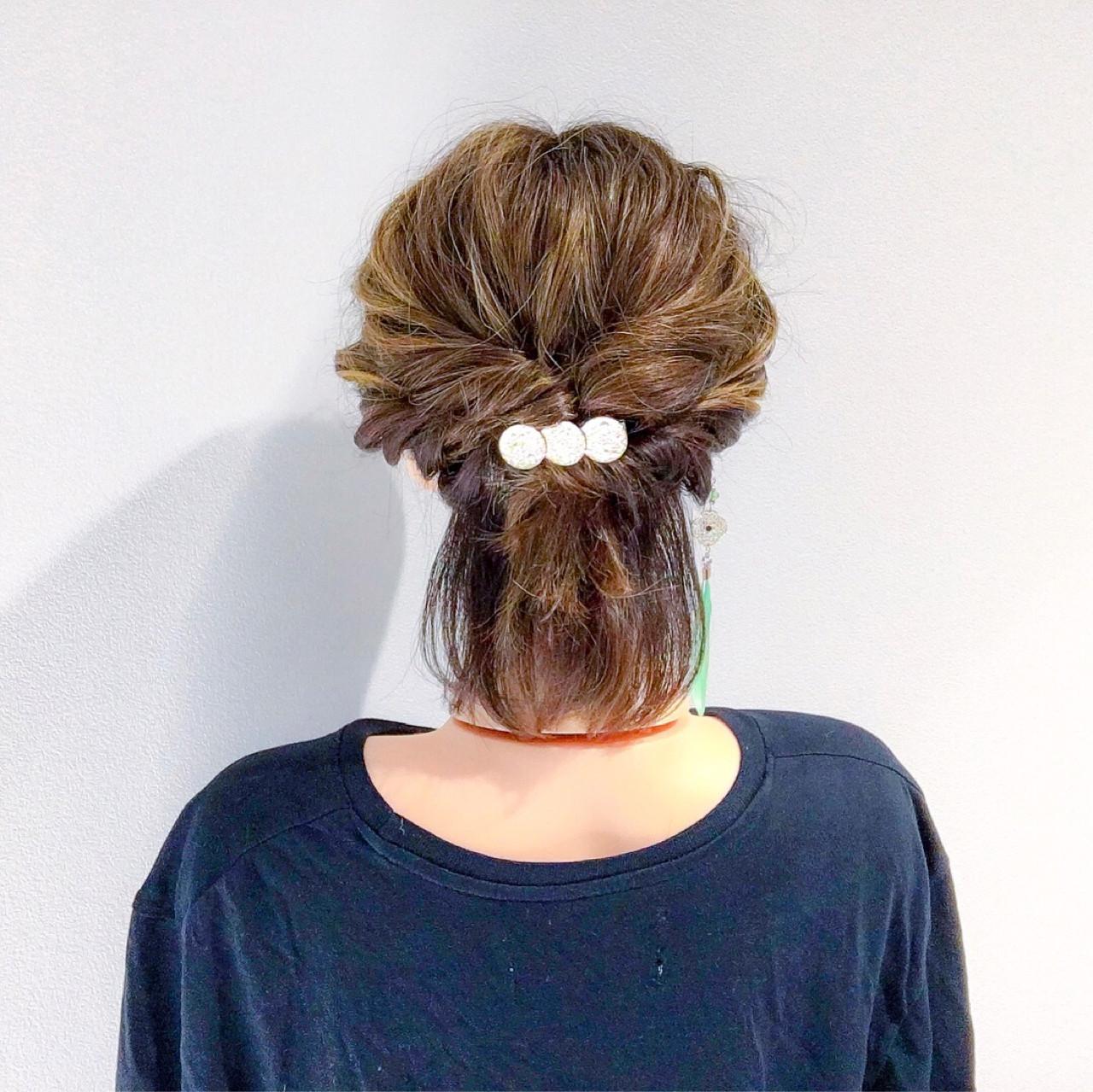 アウトドア ボブ フェミニン デート ヘアスタイルや髪型の写真・画像