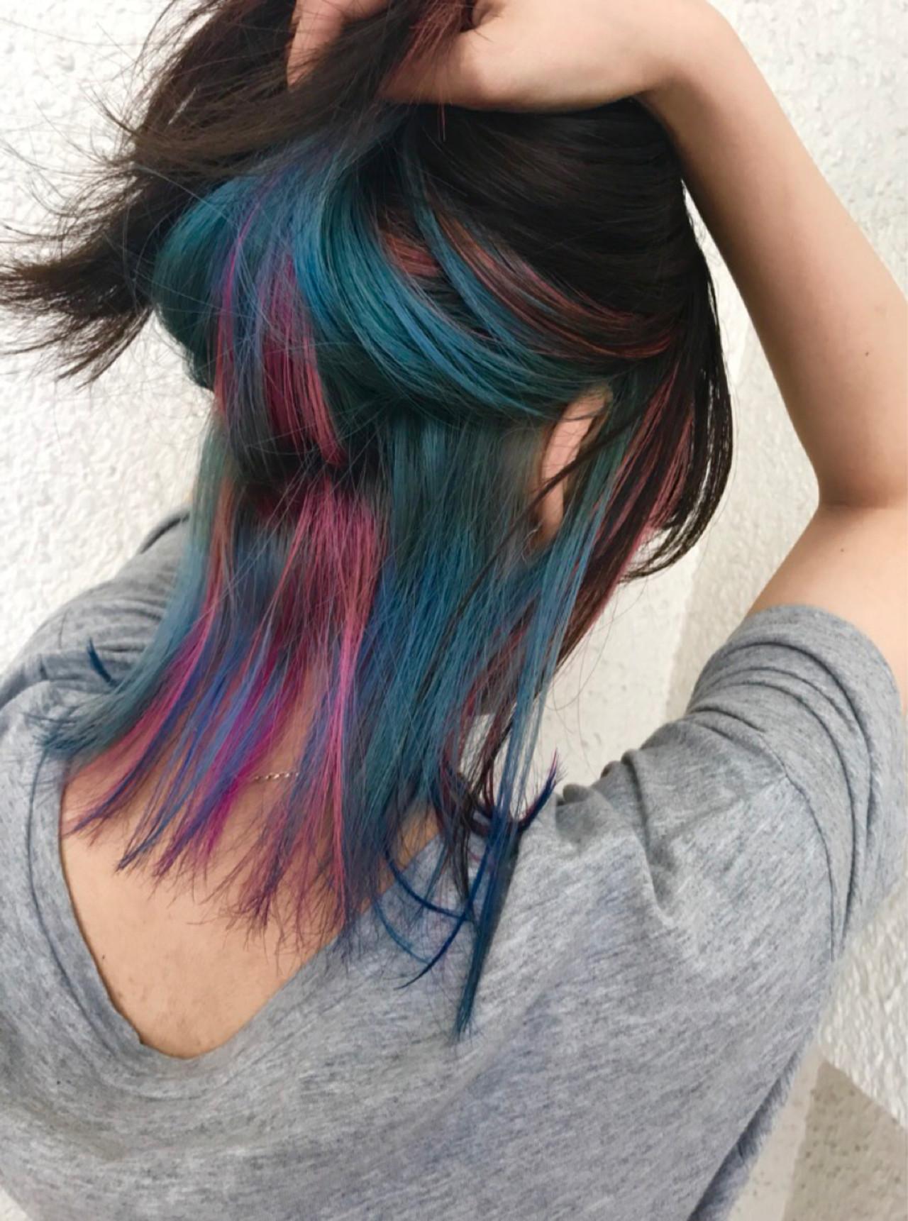 スポーツ ミディアム ストリート ブリーチ ヘアスタイルや髪型の写真・画像
