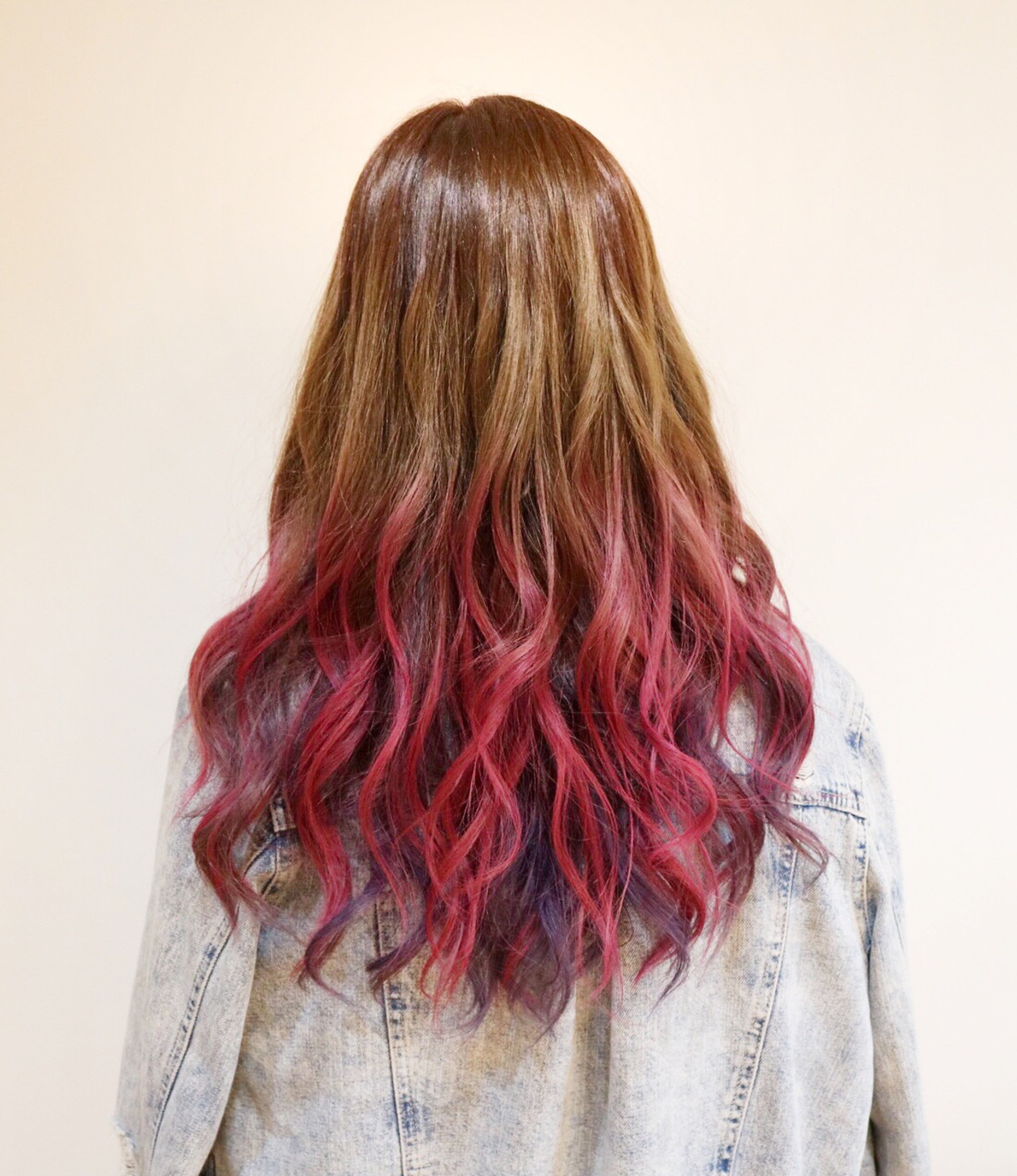 外国人風 グラデーションカラー ブリーチ ストリート ヘアスタイルや髪型の写真・画像