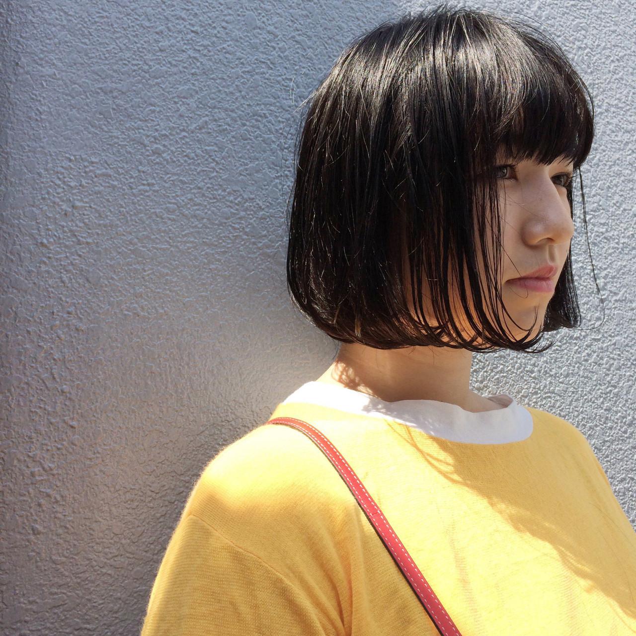 文山勝典/ショート・ボブが得意なヘアデザイナー