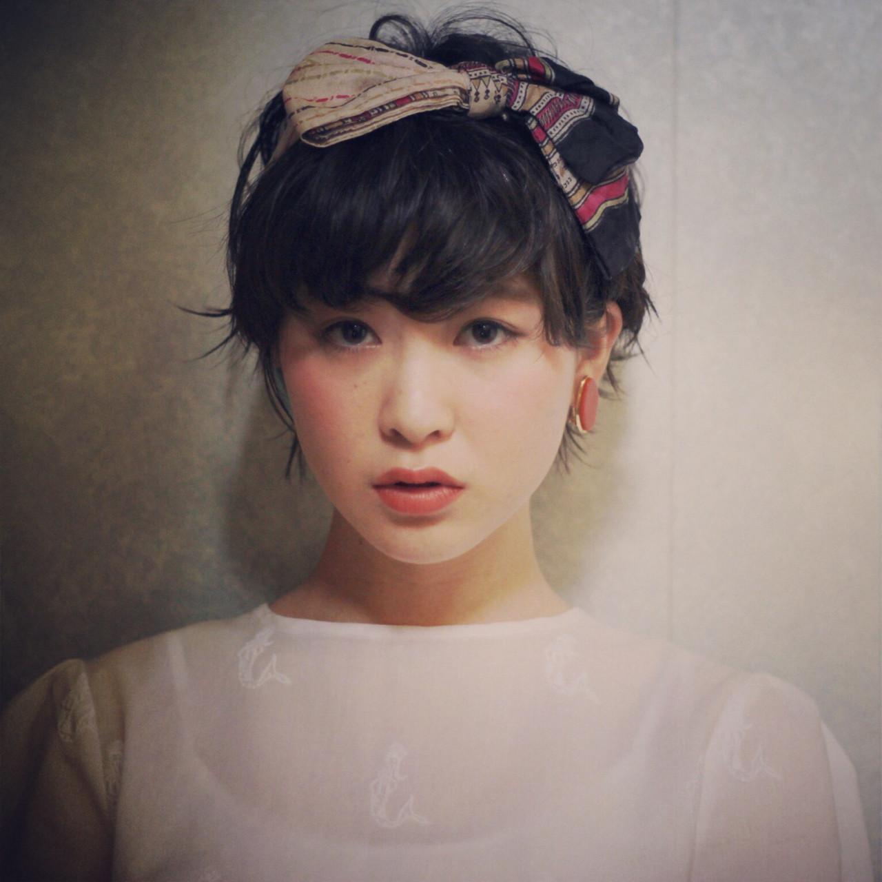 大きなリボンがかわいいバンダナ♡ miki takami