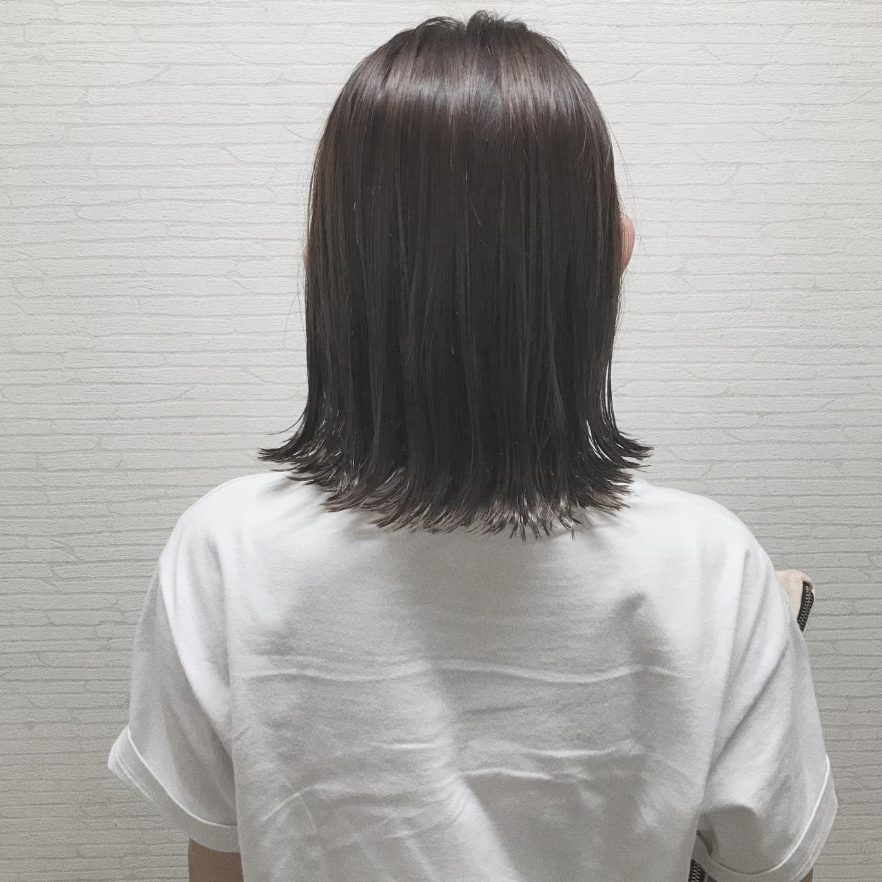 黒髪×インナーカラーなら学校や職場でバレない♪ ZONO(西園 圭祐)