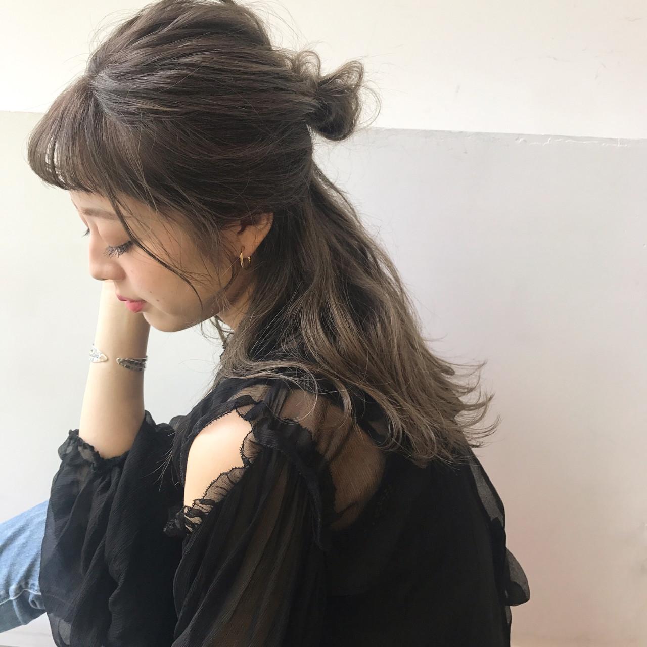 邪魔にならないざっくりハーフアップ 佐々木拓巳 | GARDEN harajuku