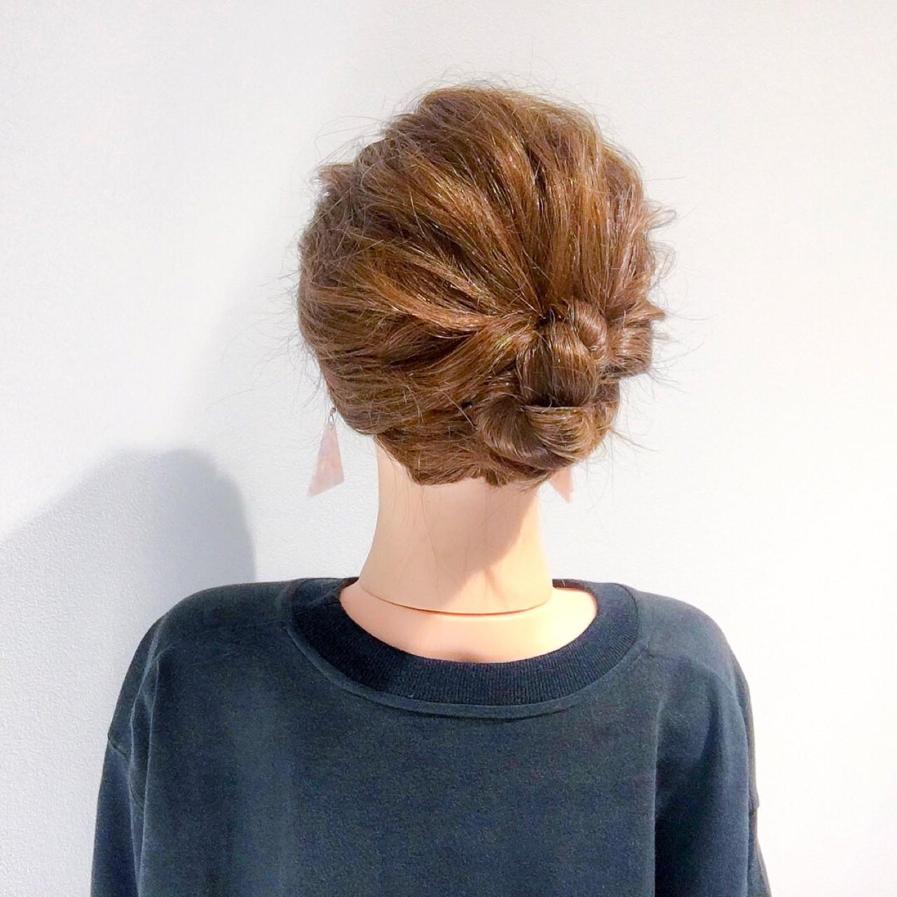 ヘアアレンジ 結婚式 エレガント 上品 ヘアスタイルや髪型の写真・画像