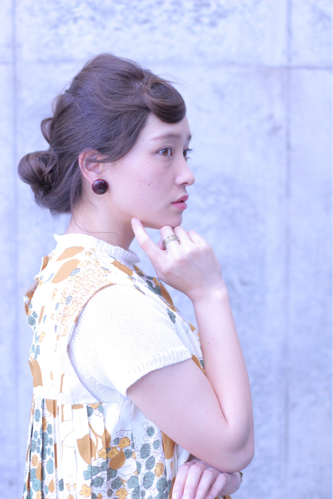 フェミニン クラシカル こなれ感 大人女子 ヘアスタイルや髪型の写真・画像