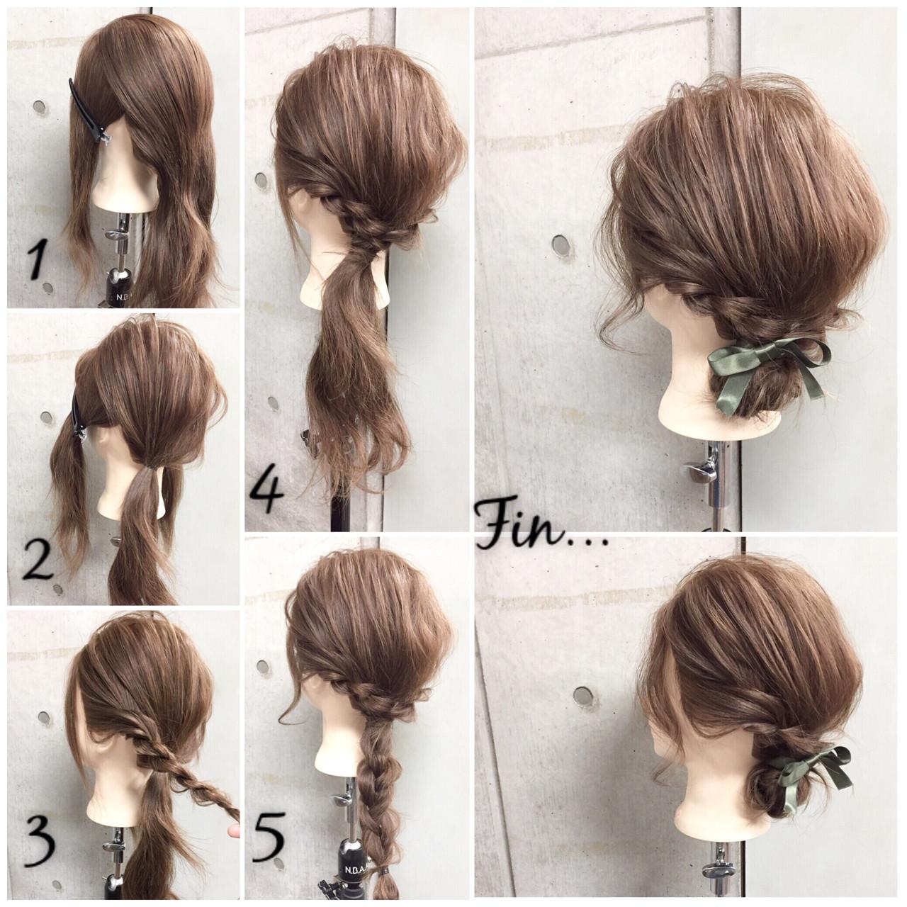 入学式 入園式ママ向け髪型 自分でできる簡単ヘアアレンジ Hair