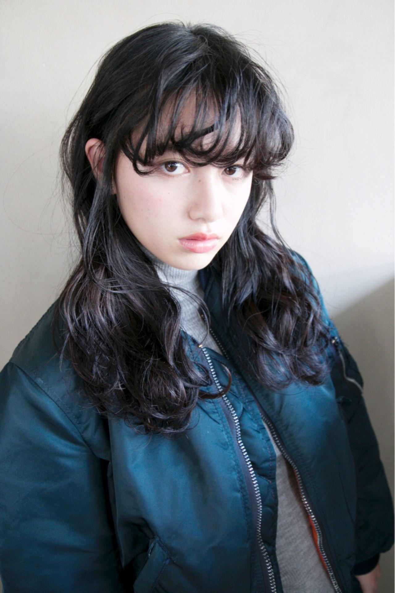 【ヘアカタログ】黒髪を活かしたヘアスタイル8選  津崎 伸二 / nanuk