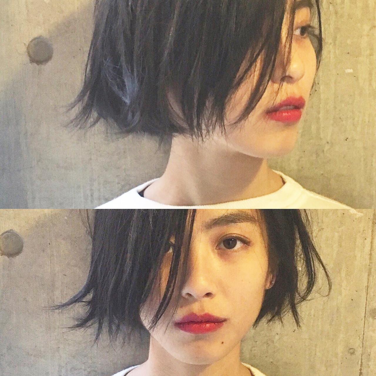 【ヘアカタログ】黒髪を活かしたヘアスタイル8選  bibito TSUJII&NAGAI