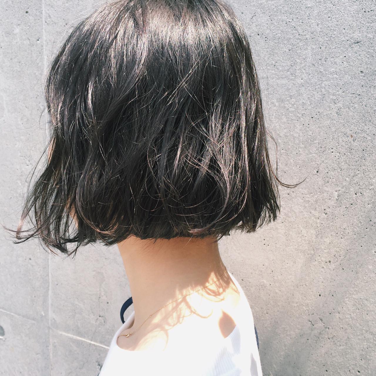 【ヘアカタログ】黒髪を活かしたヘアスタイル8選  市木ありさ