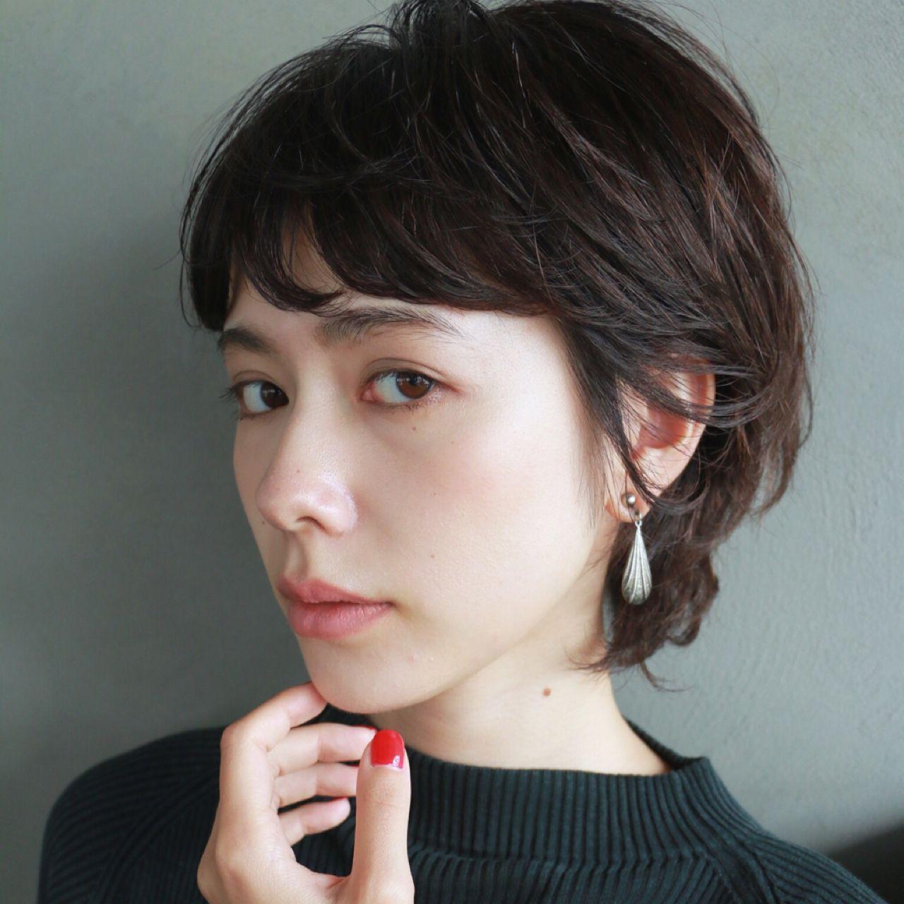 【ヘアカタログ】黒髪を活かしたヘアスタイル8選  高橋 忍